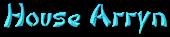 Font DomoAregato House Arryn Logo Preview