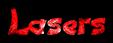 Font DomoAregato Lasers Logo Preview
