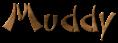Font DomoAregato Muddy Logo Preview