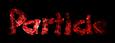 Font DomoAregato Particle Logo Preview