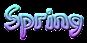 Font DomoAregato Spring Logo Preview