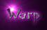 Font DomoAregato Warp Logo Preview