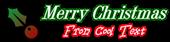 Font DubielPlain Christmas Symbol Logo Preview
