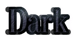 Font DubielPlain Dark Logo Preview