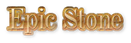 Font DubielPlain Epic Stone Logo Preview