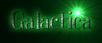 Font DubielPlain Galactica Logo Preview