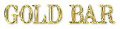 Font DubielPlain Gold Bar Logo Preview