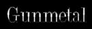 Font DubielPlain Gunmetal Logo Preview