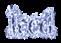 Font DubielPlain Iced Logo Preview