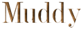 Font DubielPlain Muddy Logo Preview