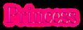 Font DubielPlain Princess Logo Preview