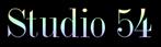 Font DubielPlain Studio 54 Logo Preview