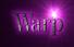 Font DubielPlain Warp Logo Preview