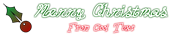 Font DuckyCowgrrrl Christmas Symbol Logo Preview