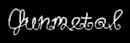 Font DuckyCowgrrrl Gunmetal Logo Preview
