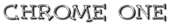 Font Dummies Chrome One Logo Preview