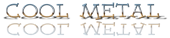 Font Dummies Cool Metal Logo Preview
