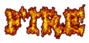 Font Dummies Fire Logo Preview