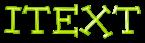 Font Dummies iText Logo Preview