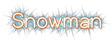 Font Dustismo Roman Snowman Logo Preview