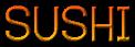 Font Dustismo Roman Sushi Logo Preview