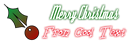 Font Dyspepsia Christmas Symbol Logo Preview