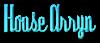 Font Dyspepsia House Arryn Logo Preview