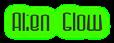 Font Dystorque Alien Glow Logo Preview