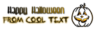 Font Dystorque Halloween Symbol Logo Preview