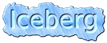 Font Elham Iceberg Logo Preview