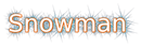 Font Elham Snowman Logo Preview