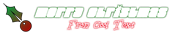 Font Elvis Christmas Symbol Logo Preview