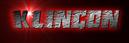 Font Endeavour forever Klingon Logo Preview