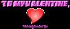 Font Endeavour forever Valentine Symbol Logo Preview