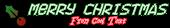 Font Exit font Christmas Symbol Logo Preview
