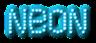 Font Exit font Neon Logo Preview