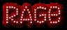 Font Exit font Rage Logo Preview