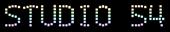 Font Exit font Studio 54 Logo Preview