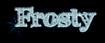 Font FFF Tusj Frosty Logo Preview