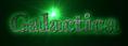 Font FFF Tusj Galactica Logo Preview
