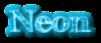Font FFF Tusj Neon Logo Preview