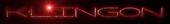 Font Factor Klingon Logo Preview
