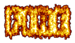Font Fanatika One Fire Logo Preview