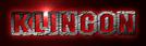Font Fanatika One Klingon Logo Preview