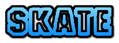 Font Fanatika One Skate Logo Preview