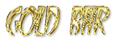 Font FangsSCapsSSK Gold Bar Logo Preview