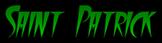 Font FangsSCapsSSK Saint Patrick Logo Preview