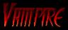 Font FangsSCapsSSK Vampire Logo Preview