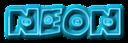 Font Fatboy Smiles Neon Logo Preview
