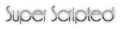 Super Scripted Logo Style